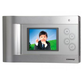 Commax CDV-40Q — цветной видеодомофон hands-free на 2 камеры с сенсорными кнопками